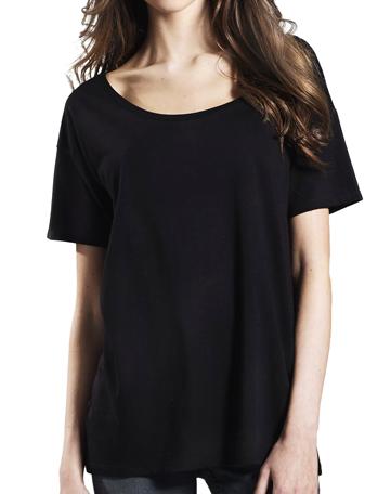 a444b5c1962 ... Women s Tencel Blend Oversized T-Shirt. EP46 Product MI1 BLK.  EP46 Product FI1 BLK EP46 Product BI1 BLK