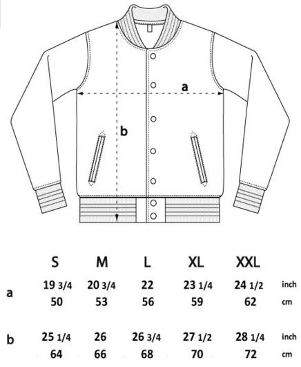 EP69 sizes