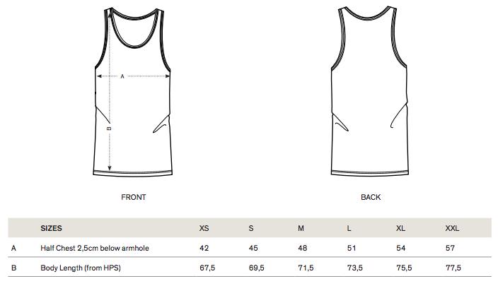 STTM551 sizes