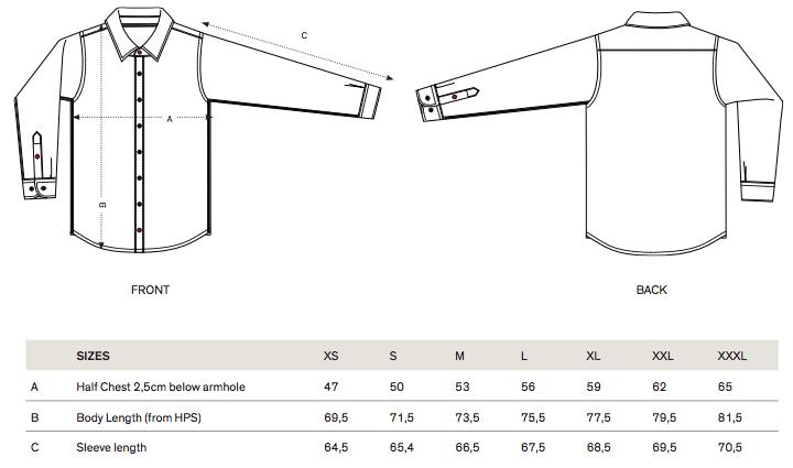 STWM571 sizes