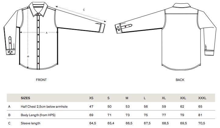 STWM572 sizes